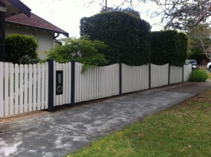 Picket fencing Sydney